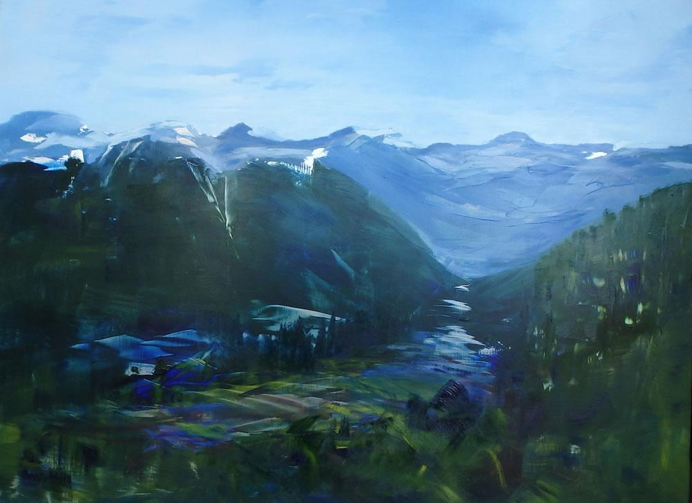 Valley Through R Mtns