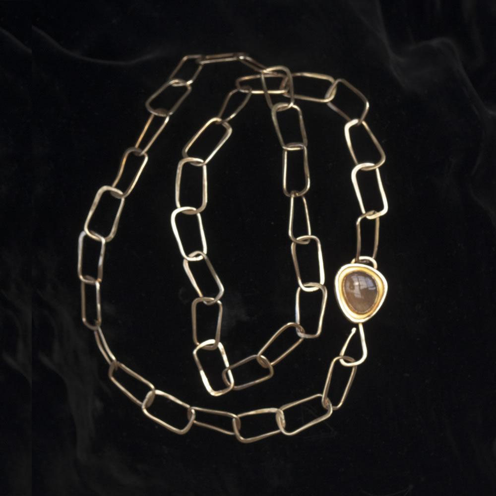 C Morgan Necklace with Moonstone