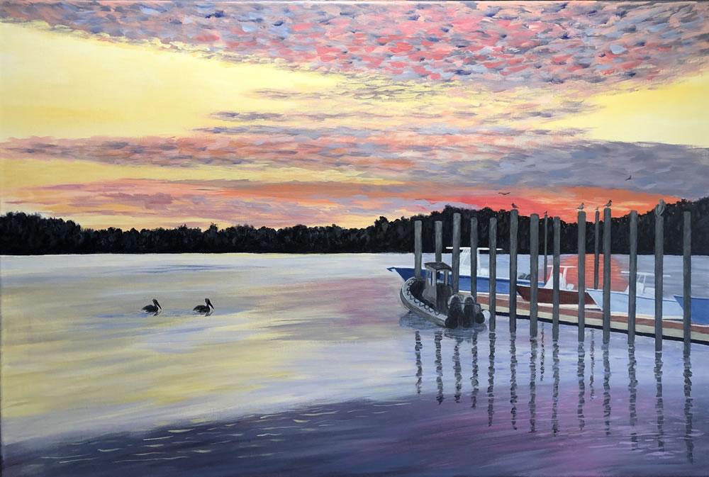 Schooley's Sunset