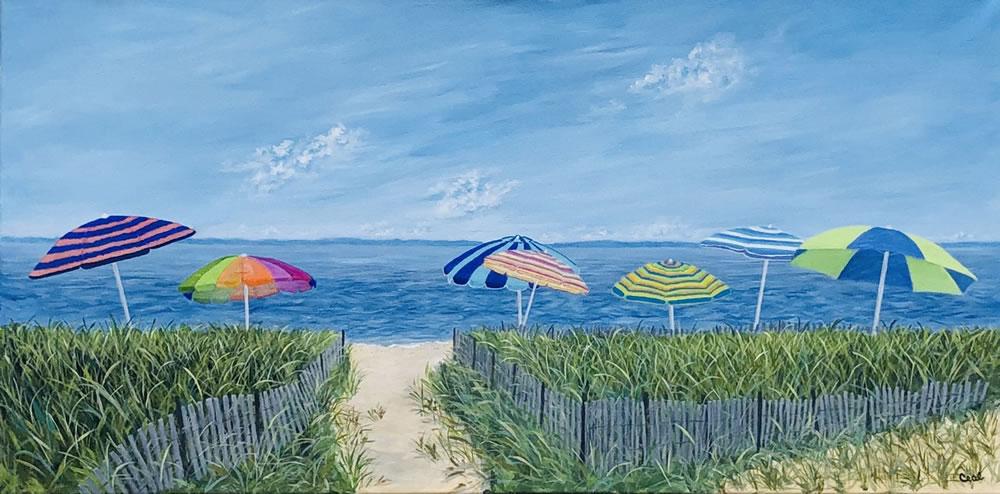 Umbrellas at Sherwood