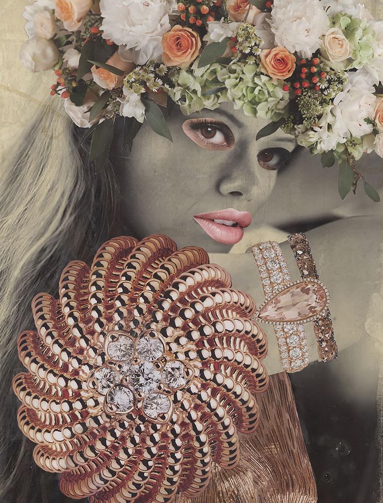 Rose Gold Goddess
