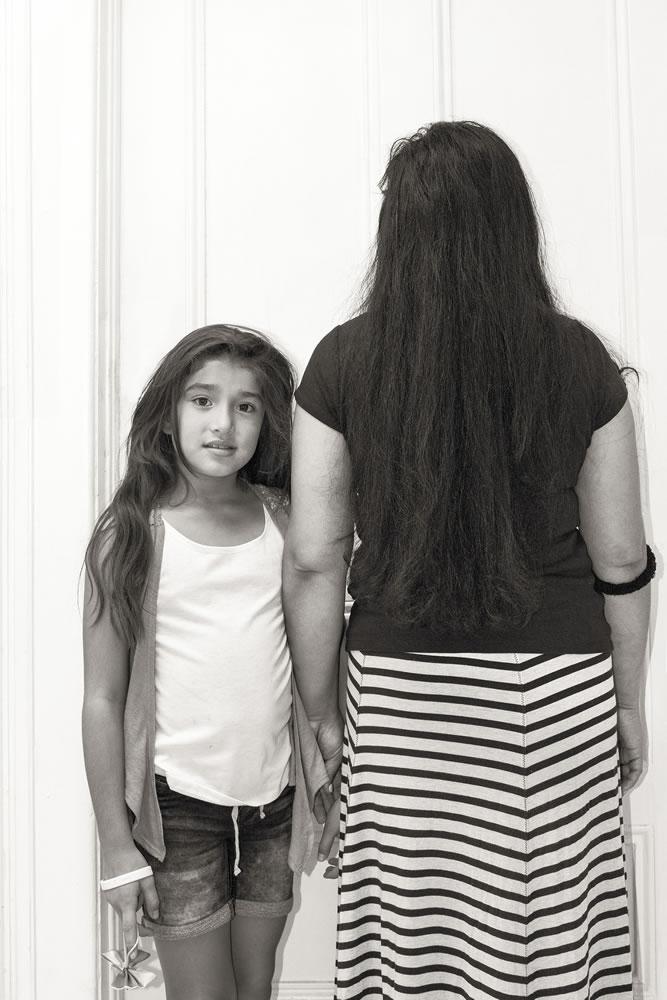 Immigrants: Amanda and herdaughter