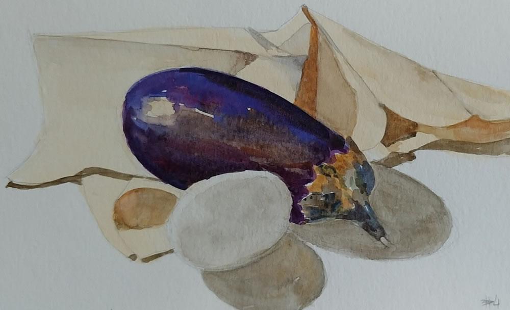 Egg and Eggplant